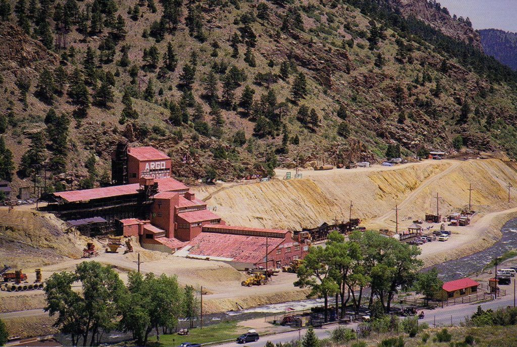 1999 Moving Train from Colorado – Baker's 10 Acre Railway Gardens